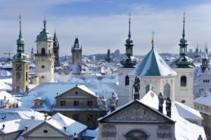 Krizovnicke namesti, Klementinum, sv. Salvator, Stare mesto (UNESCO), Praha, Ceska republika