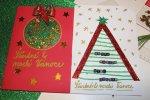 Vánoční tvoření s dětmi:přáníčka